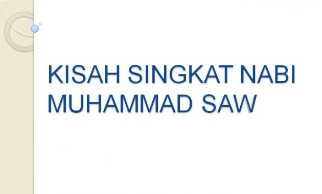 Kisah Nabi Muhammad SAW | Kisah Singkat 25 Nabi dan Rasul