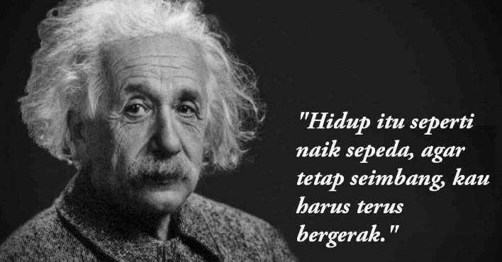 110 Contoh Kata Kata Albert Einstein Yang Menginspirasi