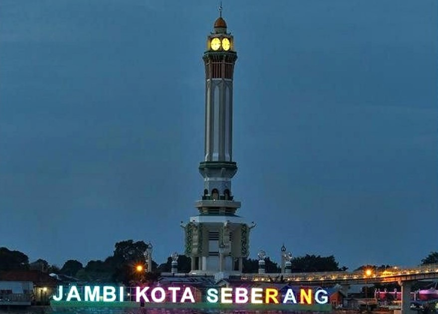 Profil Provinsi Jambi | Sejarah, Letak Geografis, Lambang dan Semboyan Kota Jambinya