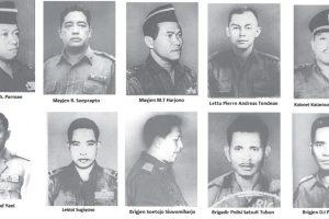 10 Nama Pahlawan Revolusi Indonesia | Biografi dan Dasar Penetapan Gelarnya