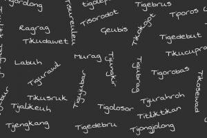 Kosa Kata Bahasa Sunda beserta Artinya Lengkap