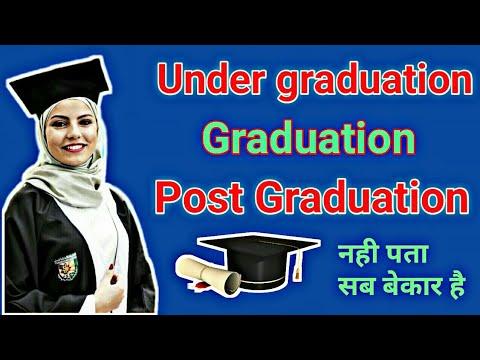 Mengenal Undergraduate, Graduate, dan Postgraduate