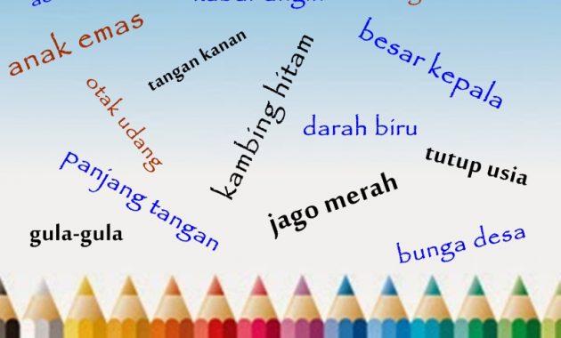 Contoh Ungkapan Bahasa Indonesia Beserta Maknanya Terlengkap