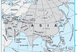 Letak Benua Asia Secara Astronomis, Geologis, dan Geografis