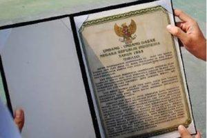 Teks Pembukaan UUD 1945 beserta Sejarah Perubahan Struktur Isi UUD